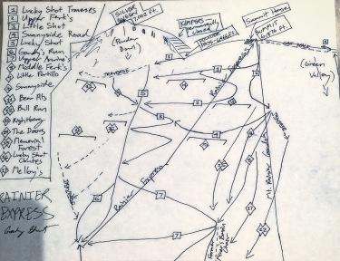 Rainier Express: Our Map